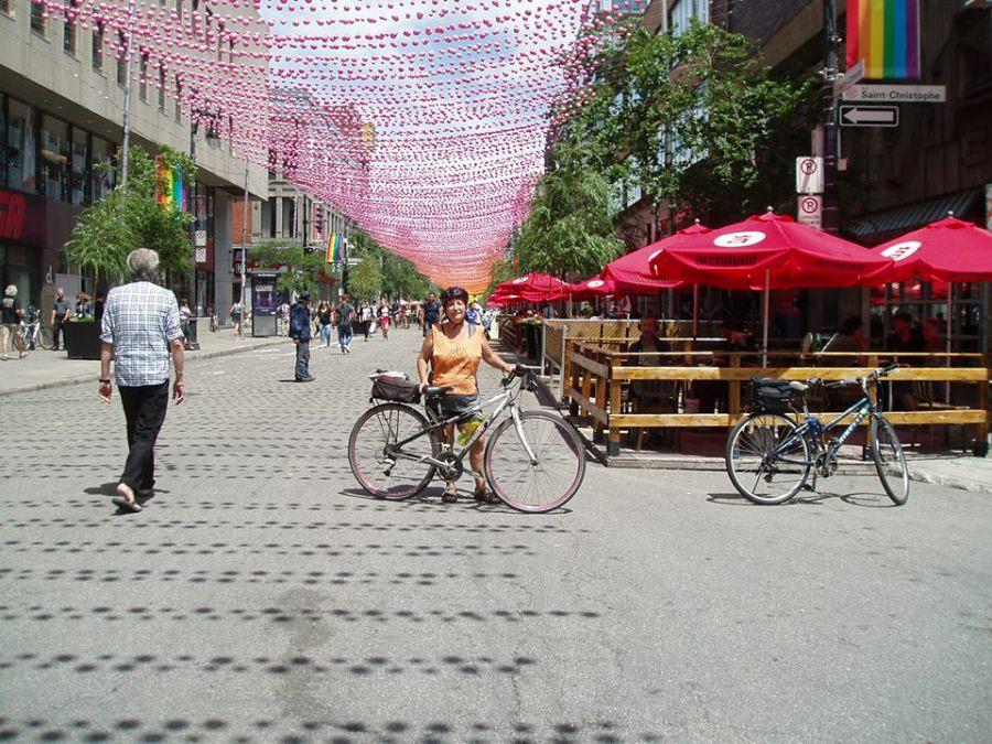 Gaétane à Montréal - été 2017